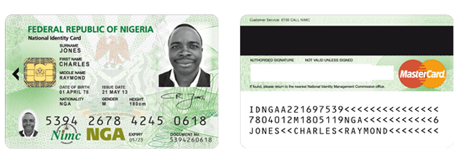 National identification card png. Nigerians urged to register