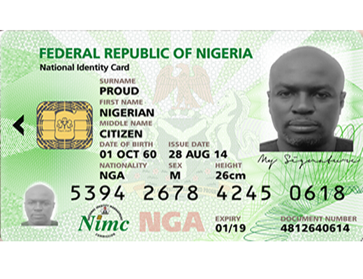 Resize Tool amp; Rotate Png National Identification Card