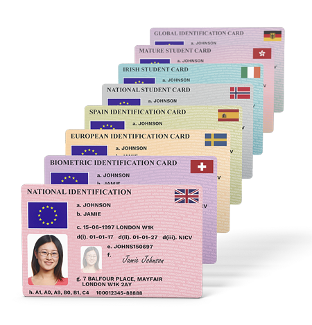 National Identification Card Transparent & PNG Clipart Free Download