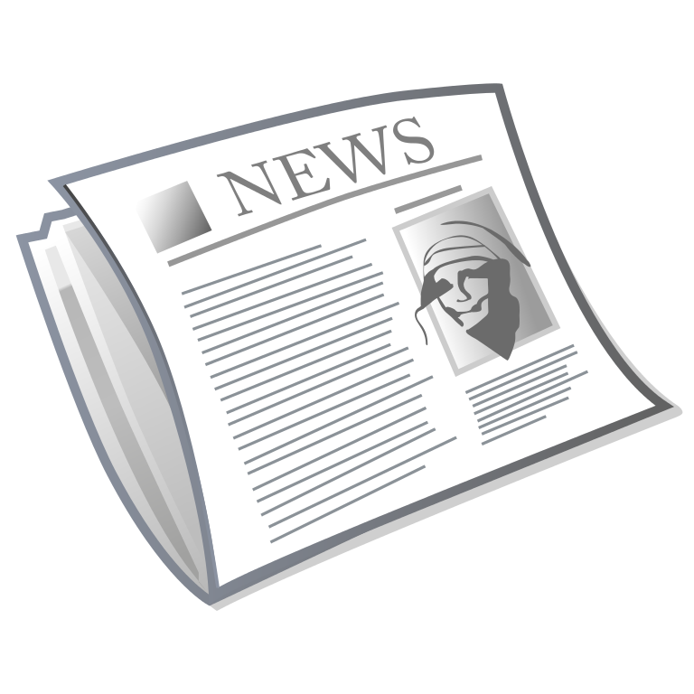 Png news papers. File newspaper cover svg