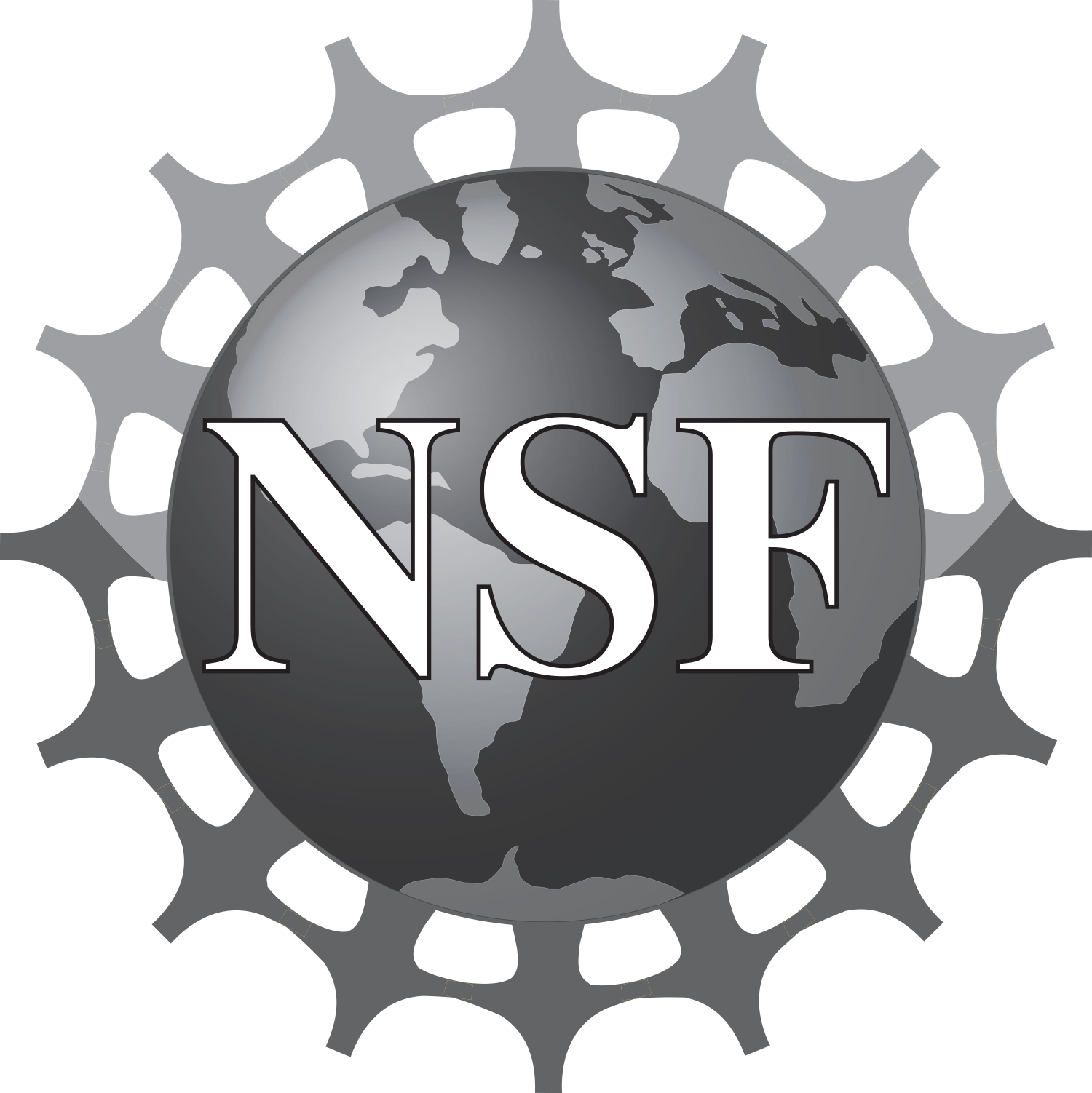 National science foundation logo png. Nsf greyscale bitmap