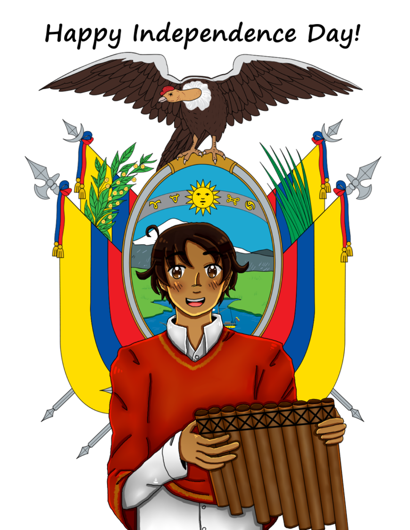 Nationalism drawing independence day philippine. Hetaoc ecuador s by