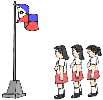 Philippines drawing nationalism. Media gallery illustration of