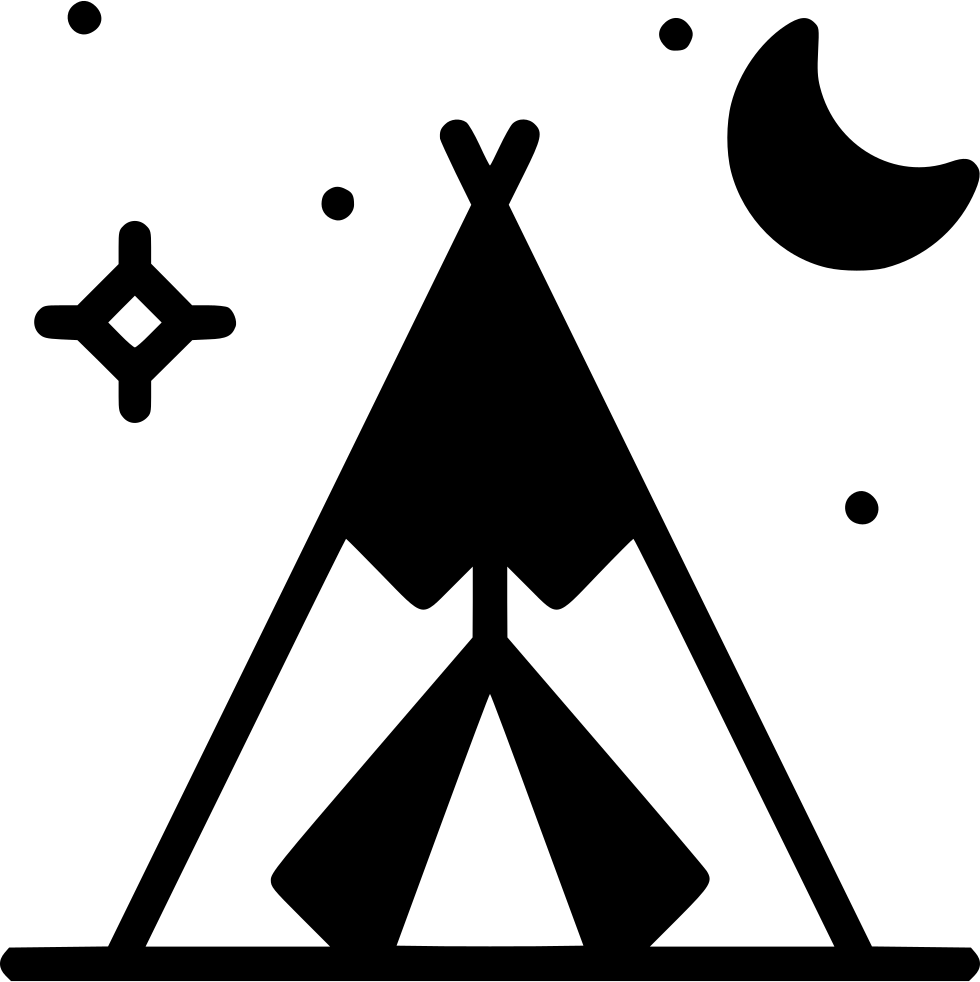 Native american alphabet png. Tent svg icon free