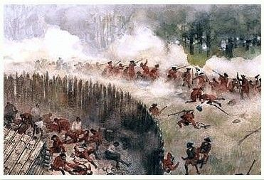 Native american clipart french and indian war. Art prints bing images