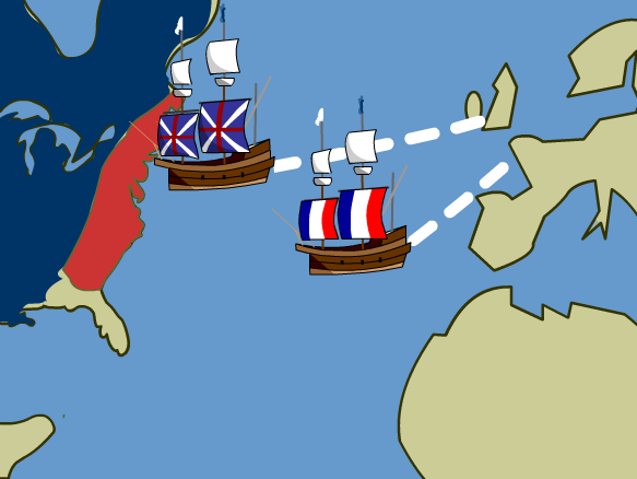 Native american clipart french and indian war. On brainpop colonial days
