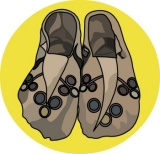Native american clipart moccasin. Search results for clip