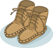 Native american clipart moccasin. Free indian clip art