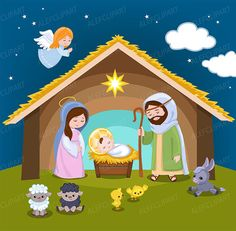 Nativity clipart. Clip art christmas jesus