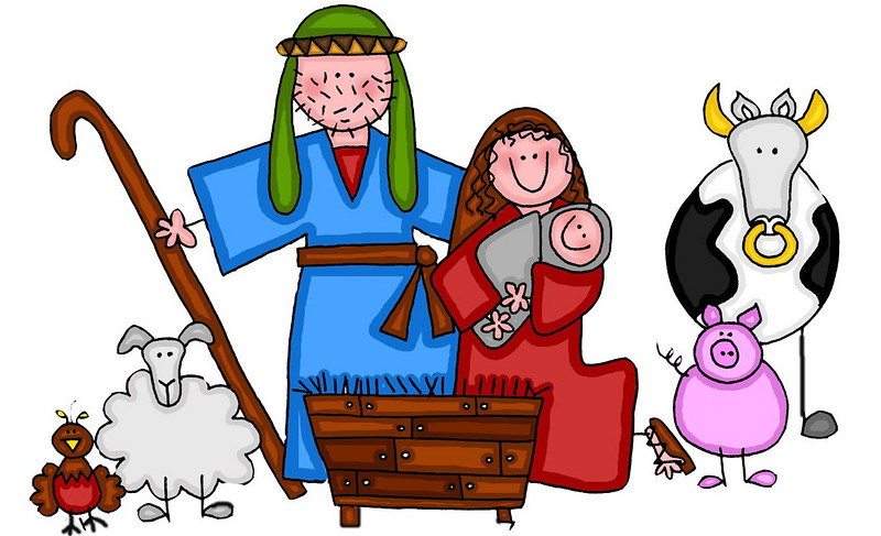 Nativity clipart christmas pageant. Free cliparts download clip