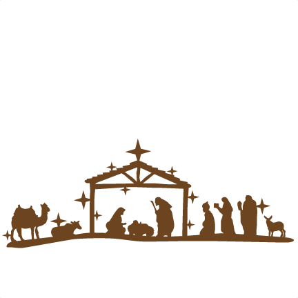 Nativity silhouette png. Free at getdrawings com