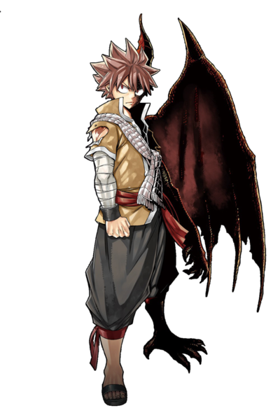 Natsu png. Dragneel most powerful version
