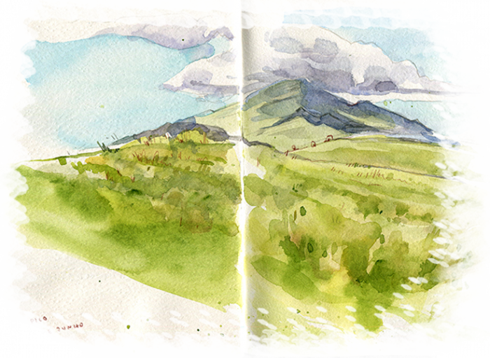 Natural drawing beach. Azores sketch tour portugal