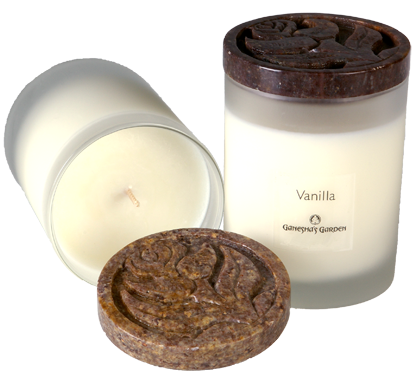 Natural soy wax candles png. And essential oils make