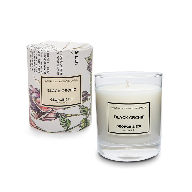 Transparent candles scented candle