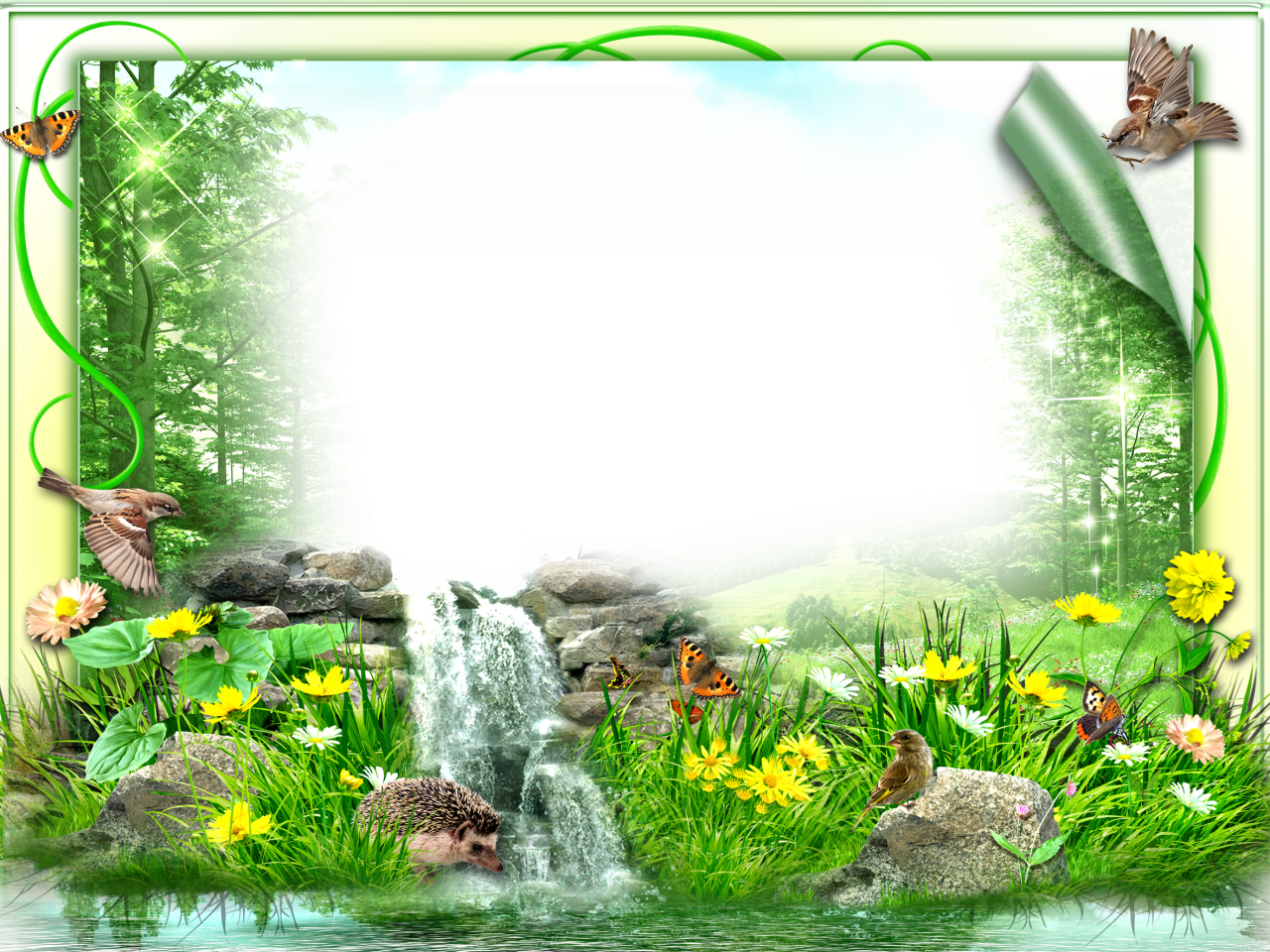 Nature frame png. Pin by suresh rock