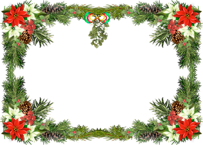 Christmas border png. Green fast lunchrock co