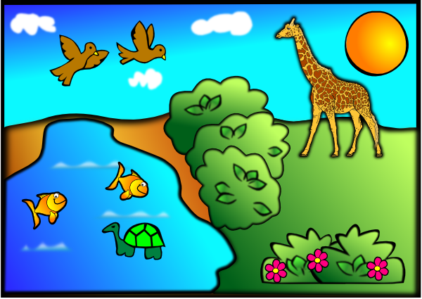Clip art at clker. Nature clipart image free