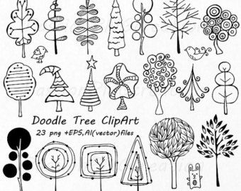 Nature clipart doodle. Hand drawn mountain clouds picture library download