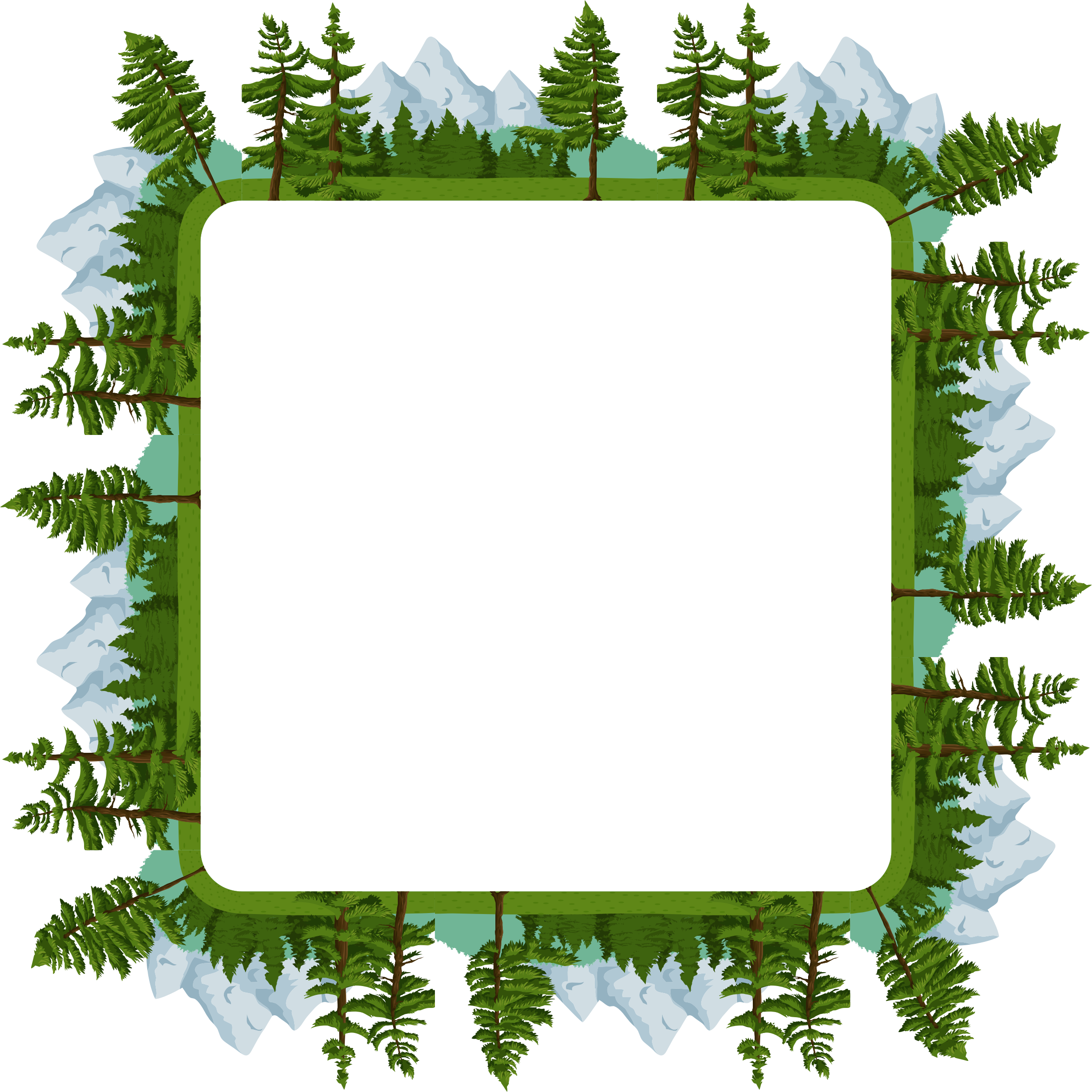 Nature clipart frame. Outdoors big image png