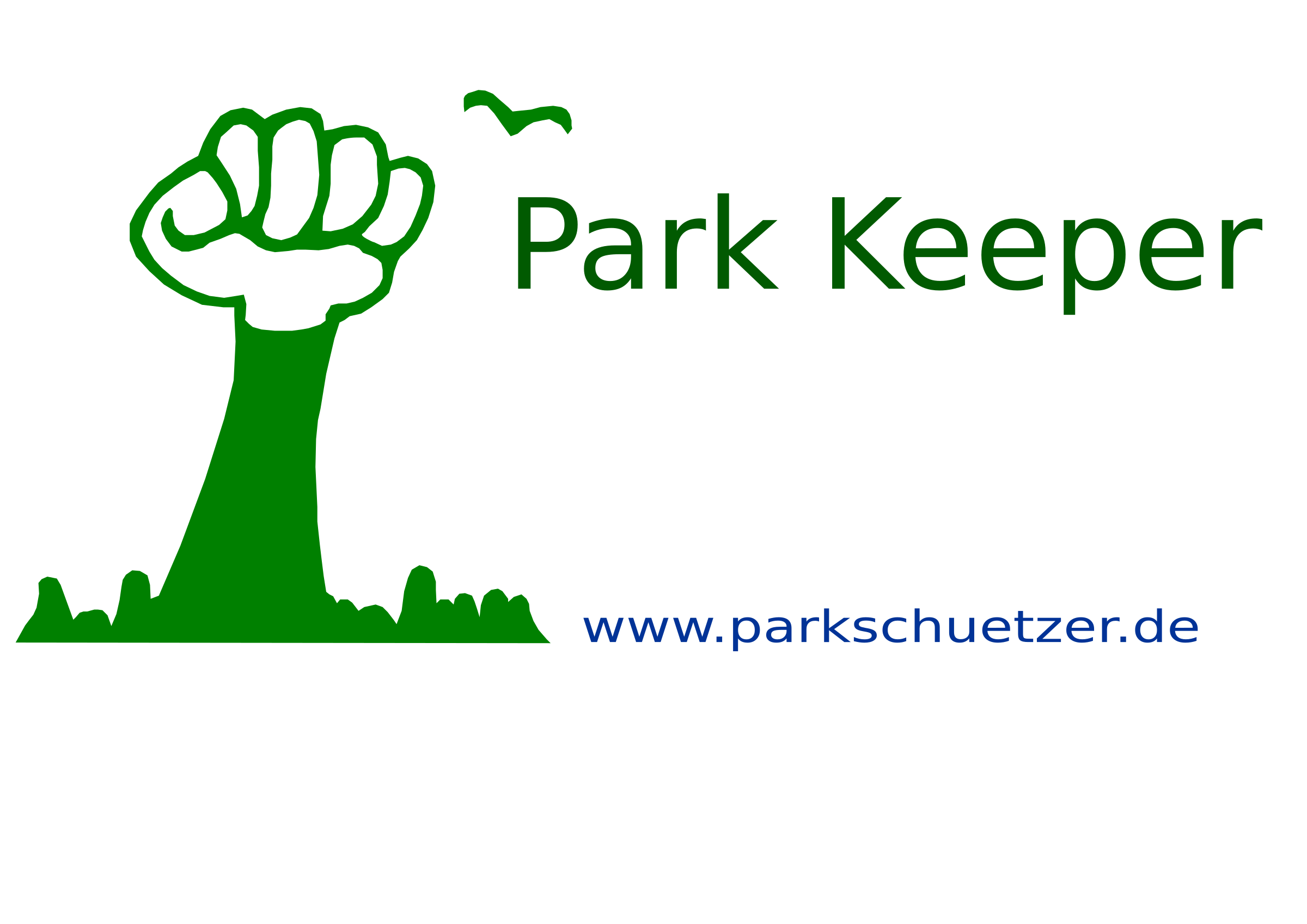 Keeper big image png. Nature clipart park banner royalty free library