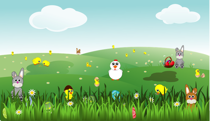 Nature clipart spring. Free easter this image