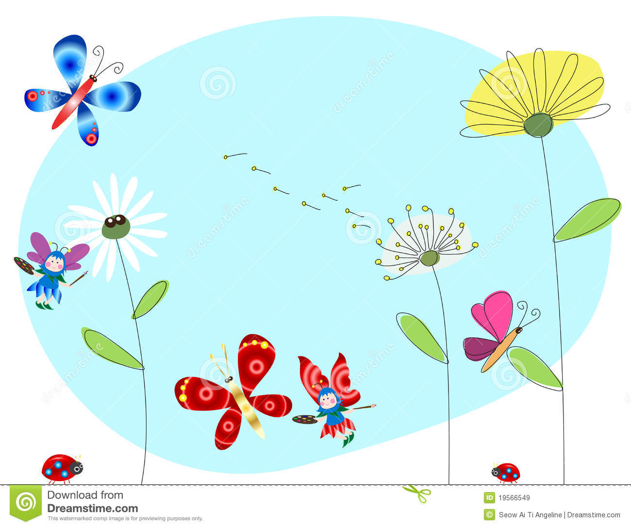 Is coming stock vector. Nature clipart spring image download