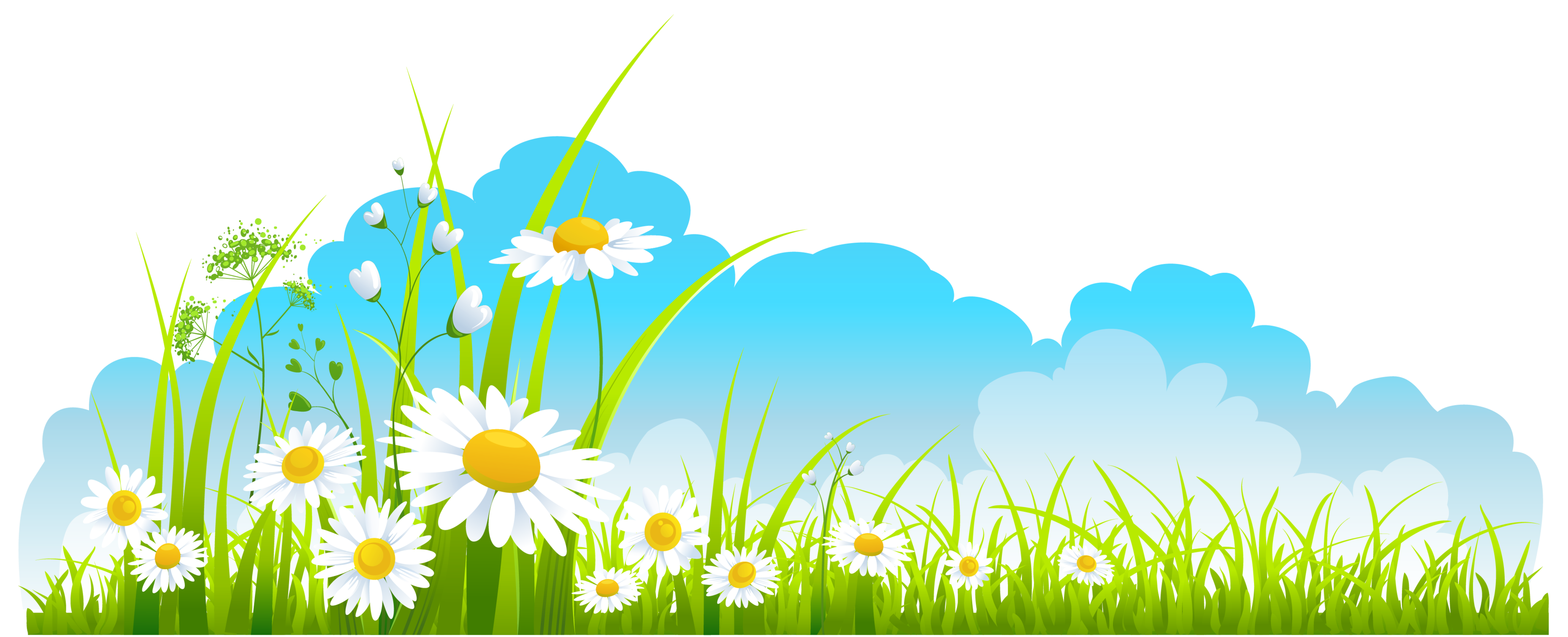 Nature clipart spring. Clip art image library
