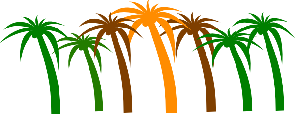 Nature clipart tree. Palm clip art download