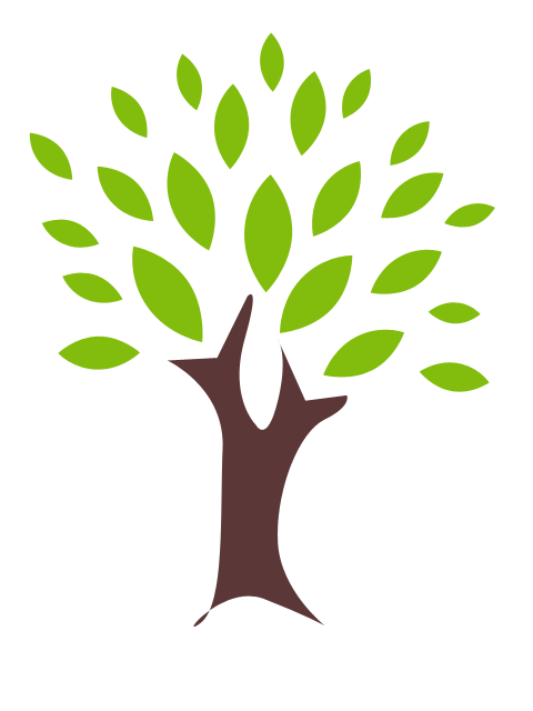 Simple pencil and in. Nature clipart tree jpg library stock