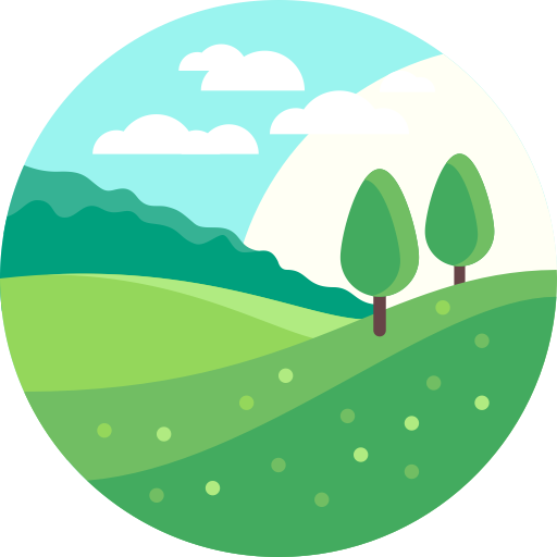Environment vector forest. Leaf nature icon with