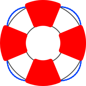 Nautical clipart number. Life preserver