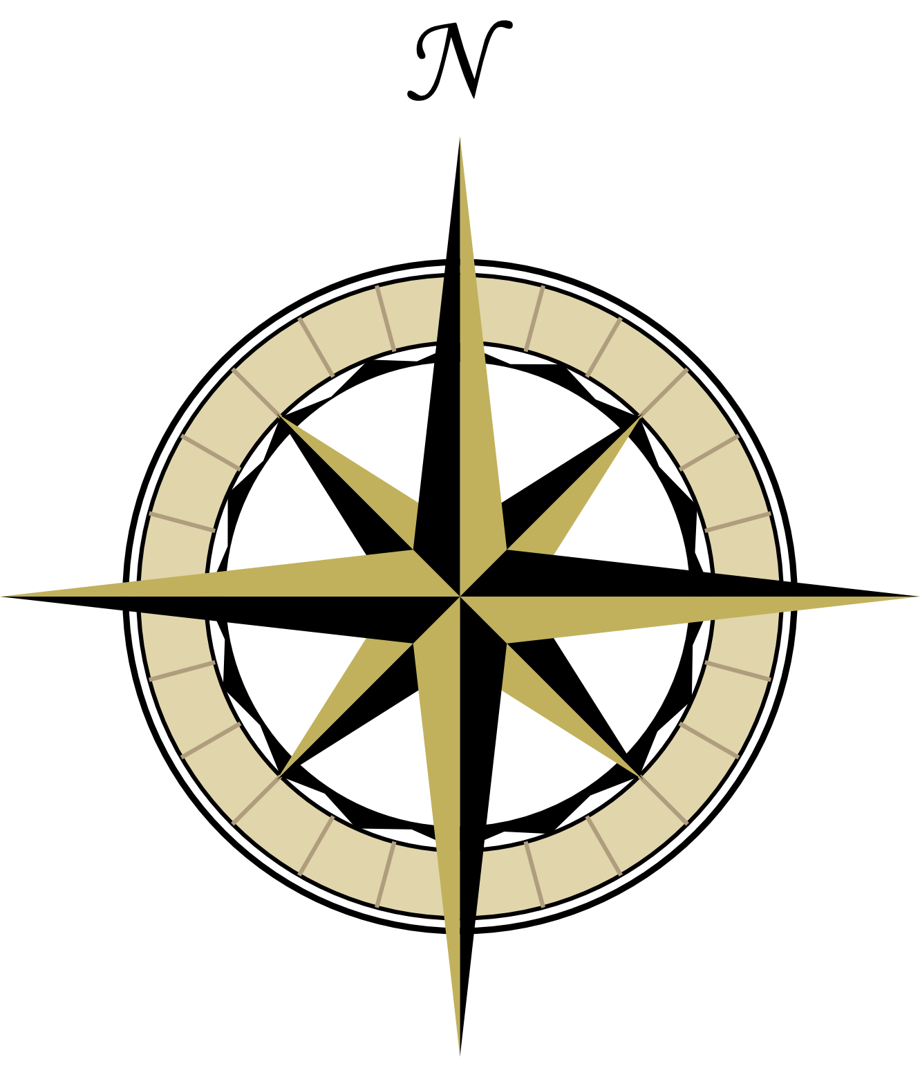 Vision clipart compass. Free fancy rose download