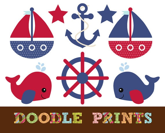 Nautical clipart nautical baby shower. Best images on