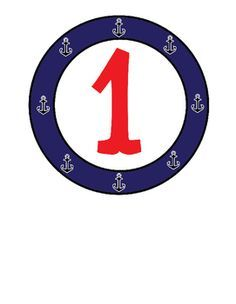 Nautical clipart number. Numbers commercial use vector