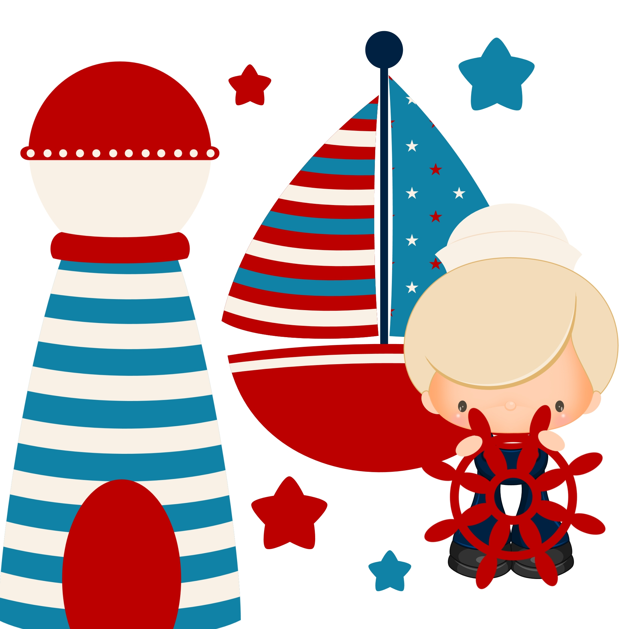 Nautical clipart number. Best of collection digital