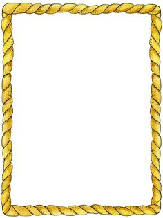 Rope clipart rectangle. Printable nautical border free