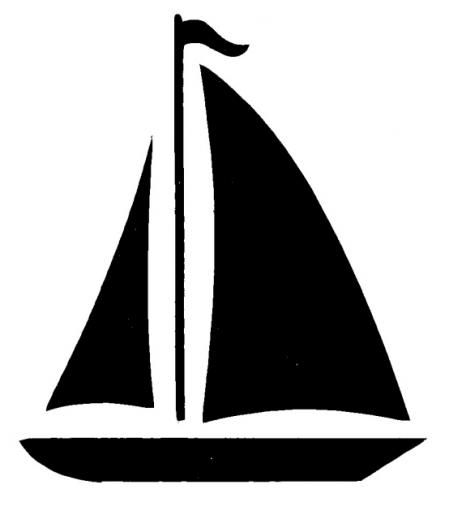 Boat clipart easy. Sailboat clip art at