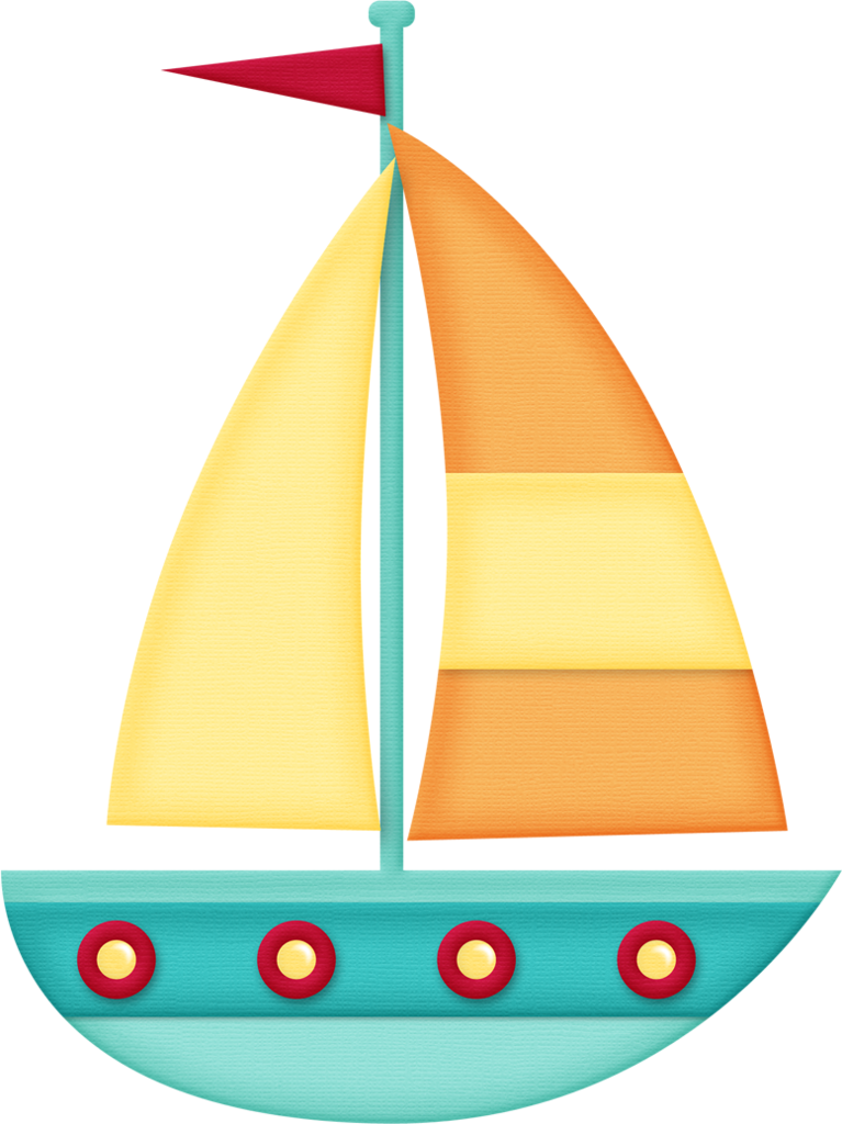 Cartoon sailboat png