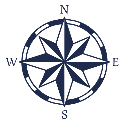 Nautical compass png. Vintage north arrow ubication