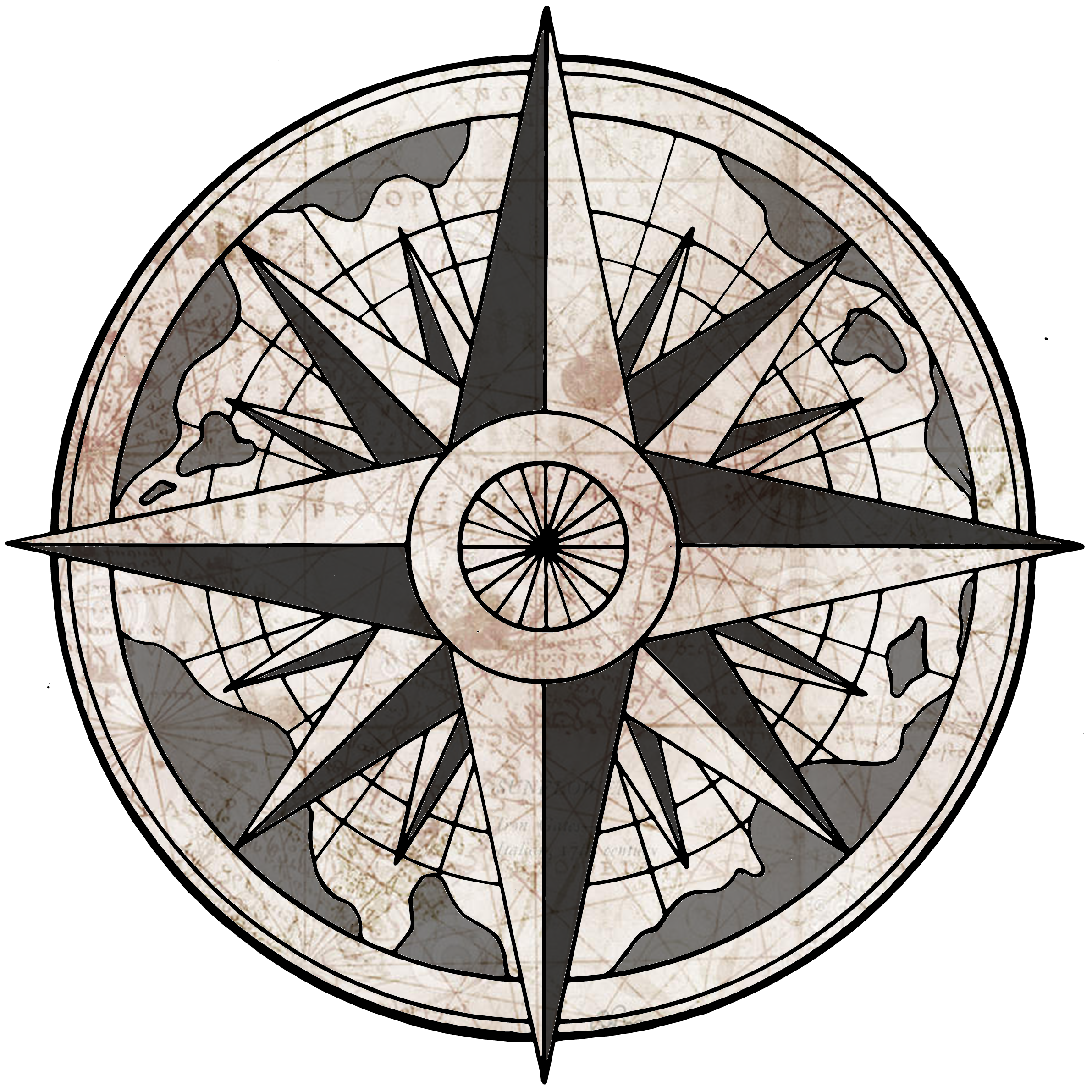 Nautical compass png. Rose gm info