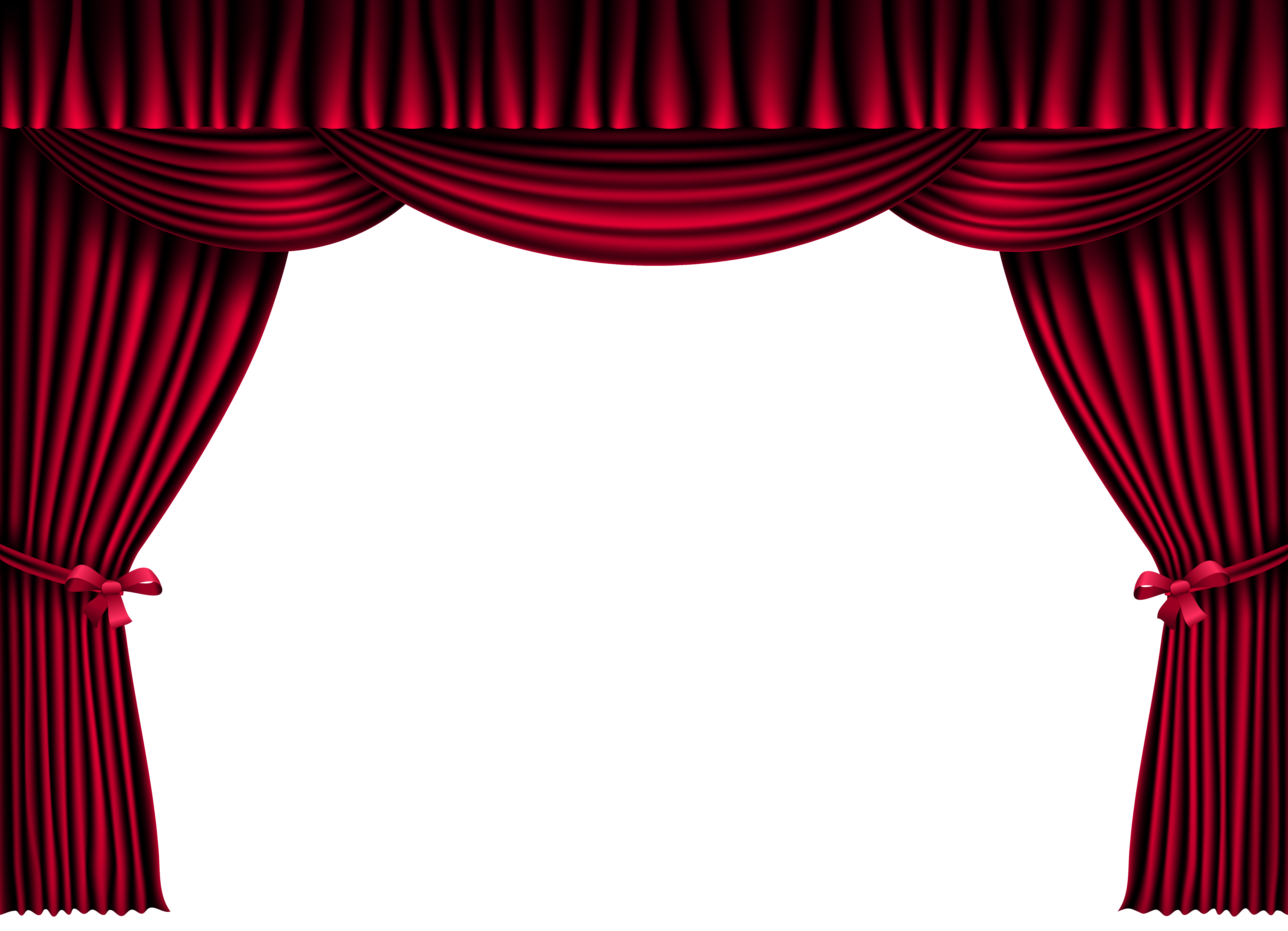 Brown stage curtains png. Red clipart image gallery