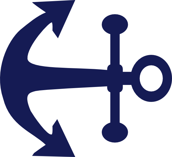 navy anchor png