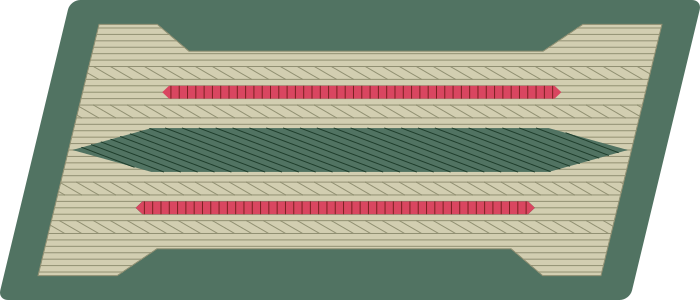 Nazi collar tabs png