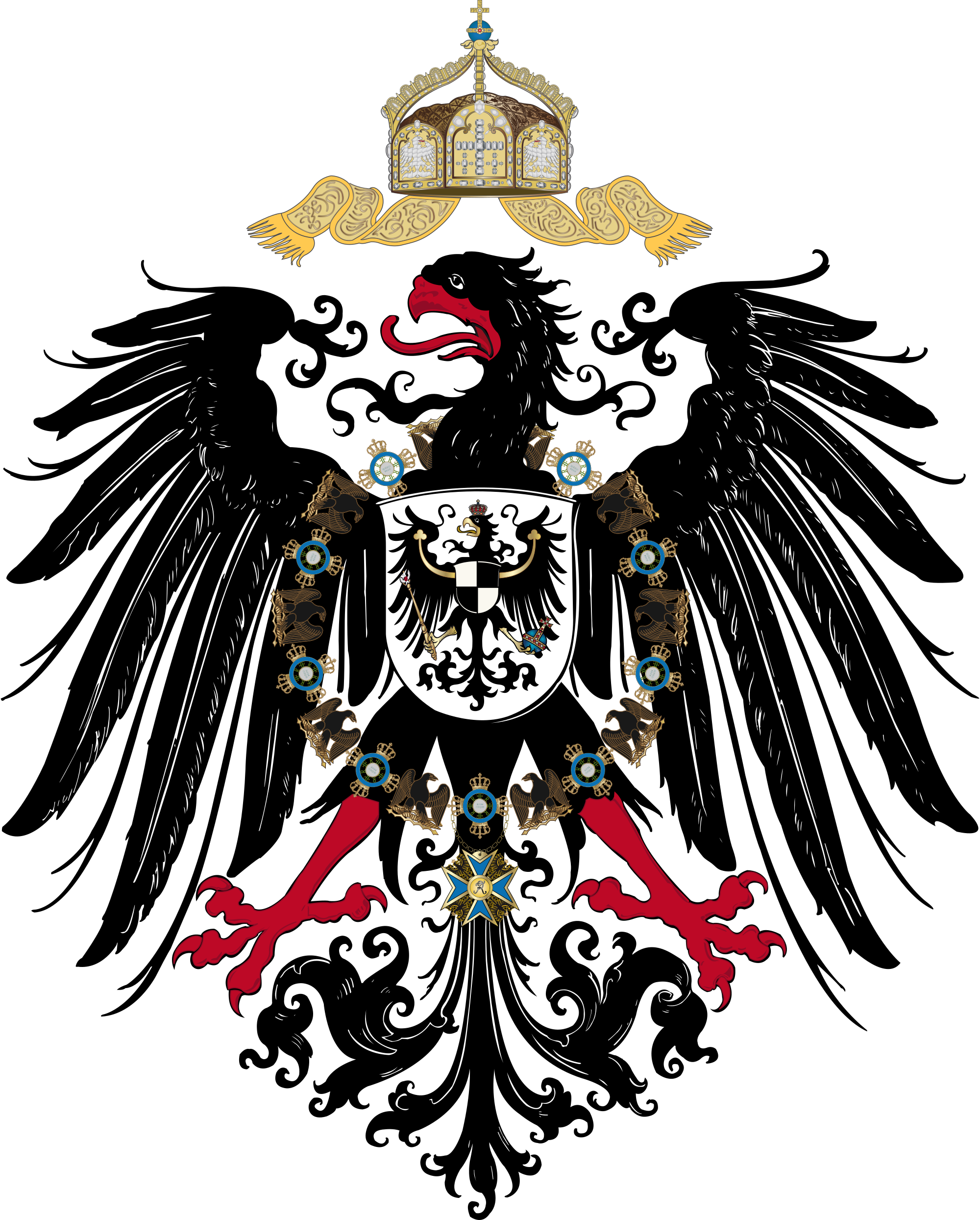 Nazi eagle grunge png. Coat of arms germany