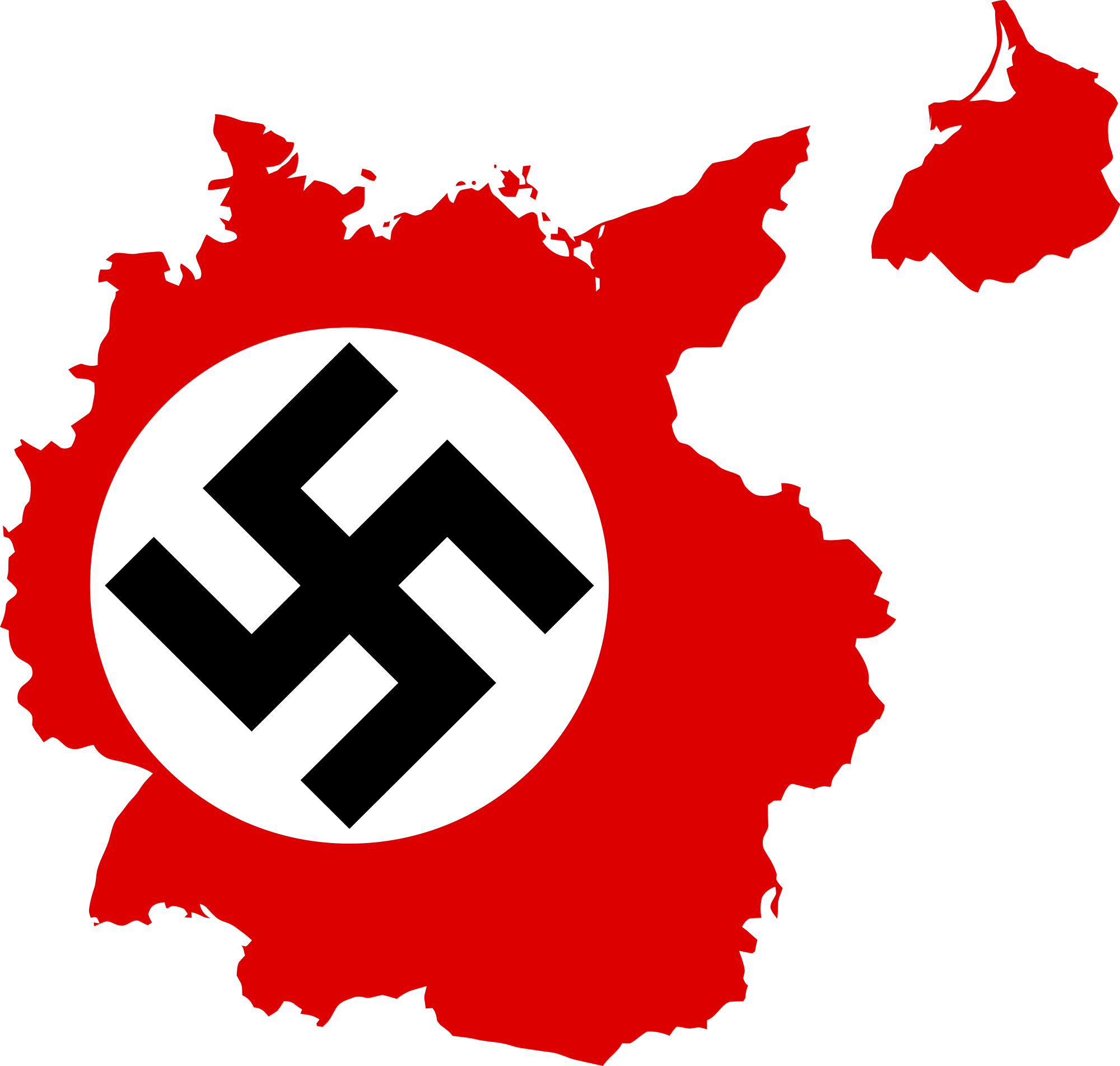 Nazi flag png. File map of germany