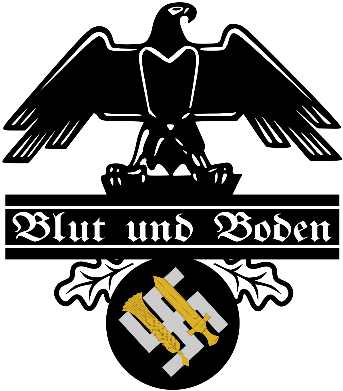 Hitler vector simple. Blood and soil wikipedia