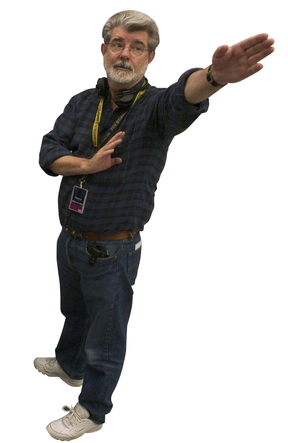 Nazi salute png. George lucas doing a