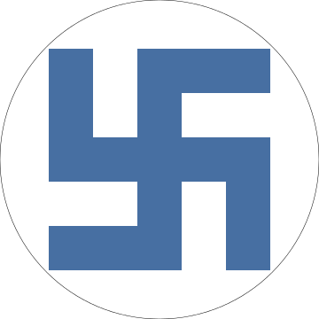 Nazi transparent roundel. File finnish air force
