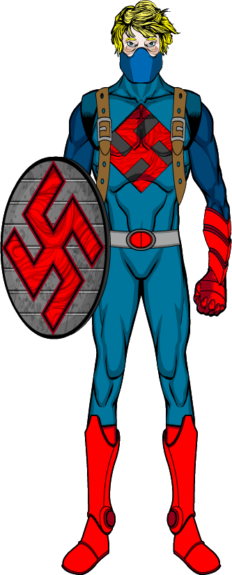 Nazi wizard png. Pd redesign captain jr